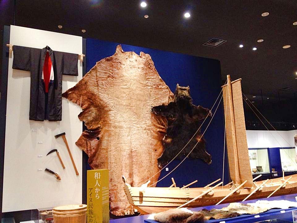 北海道博物館の展示