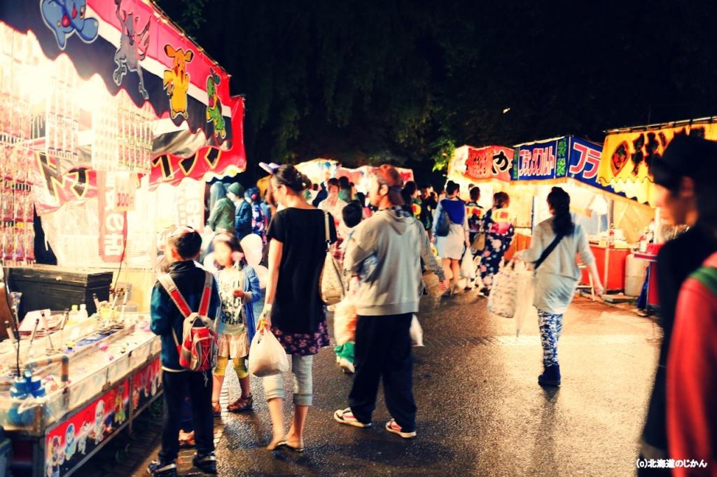 中島公園の札幌まつり