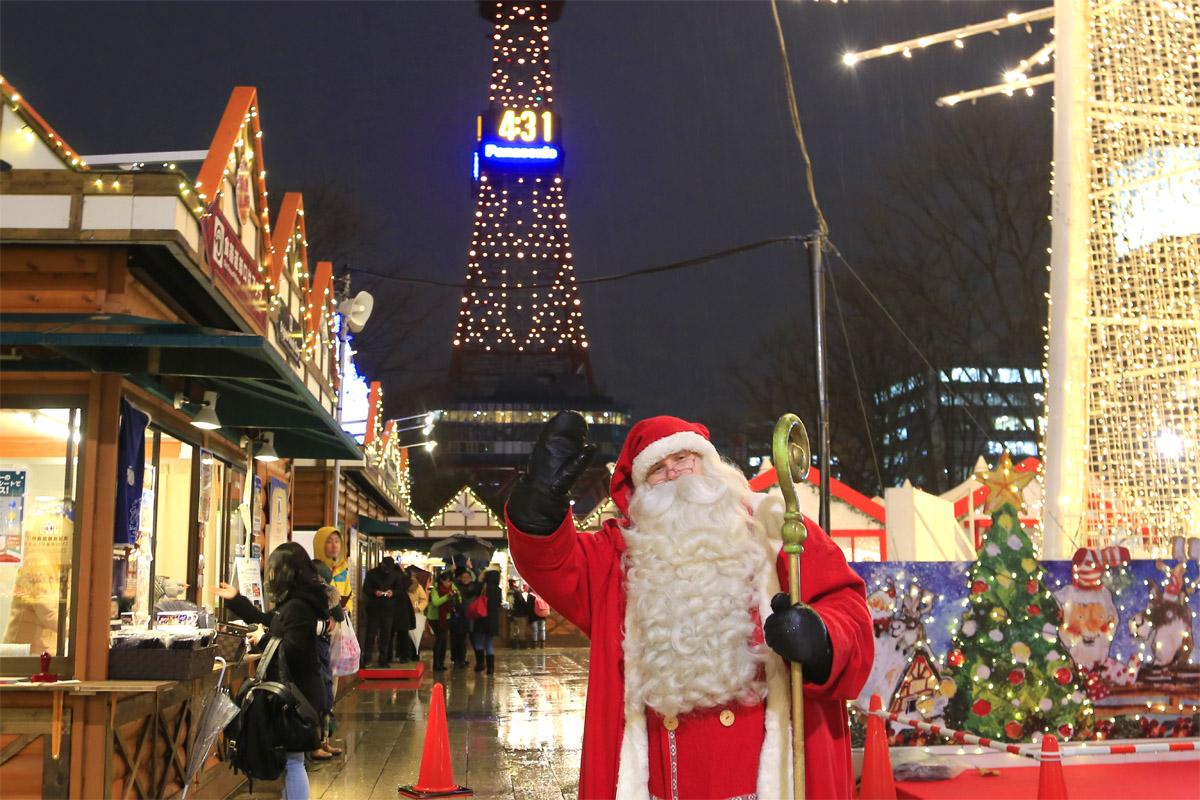 2015年のミュンヘン・クリスマス市 in Sapporo