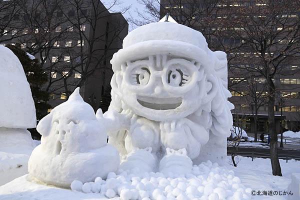 さっぽろ雪まつり2016-市民雪像5
