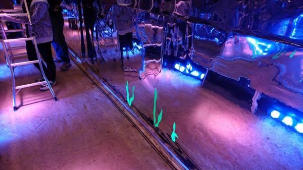 定山渓ダム光とアートのイベント (4)