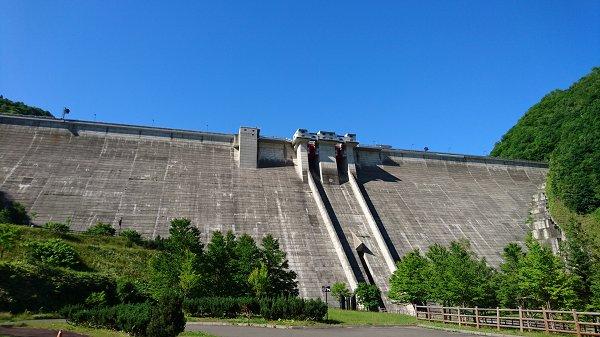 定山渓ダム (1)
