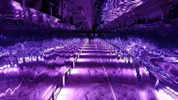 定山渓ダム光とアートのイベント (2)